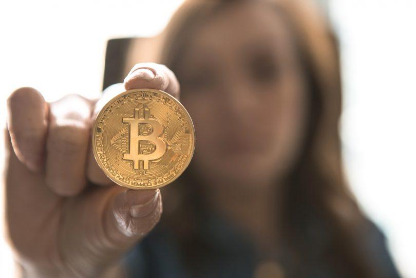 crypto vrouw