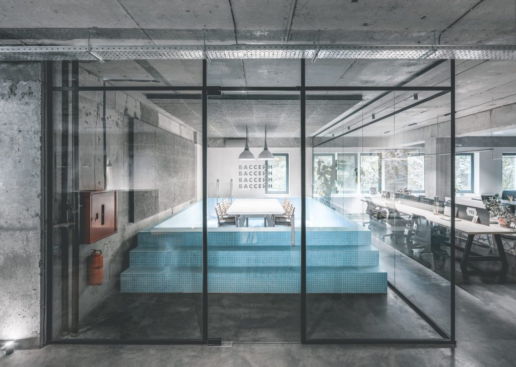 pool in office