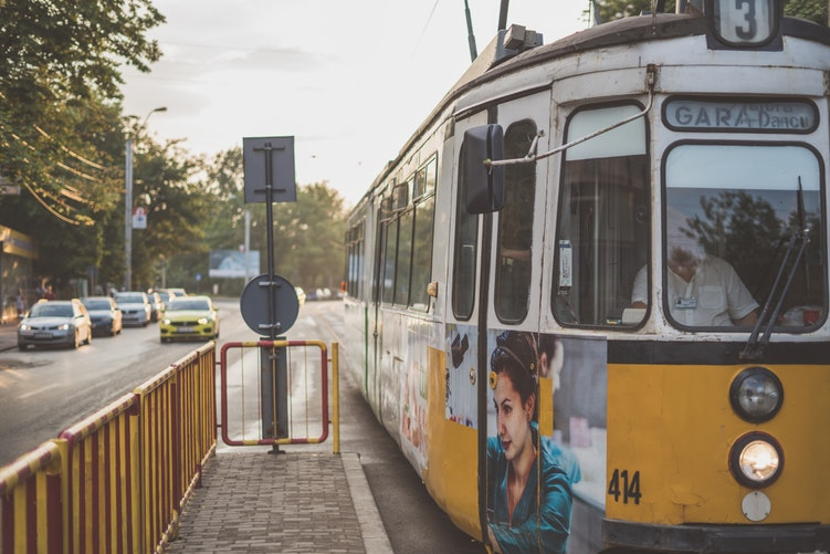 public transport tram