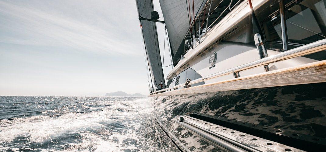 yacht side