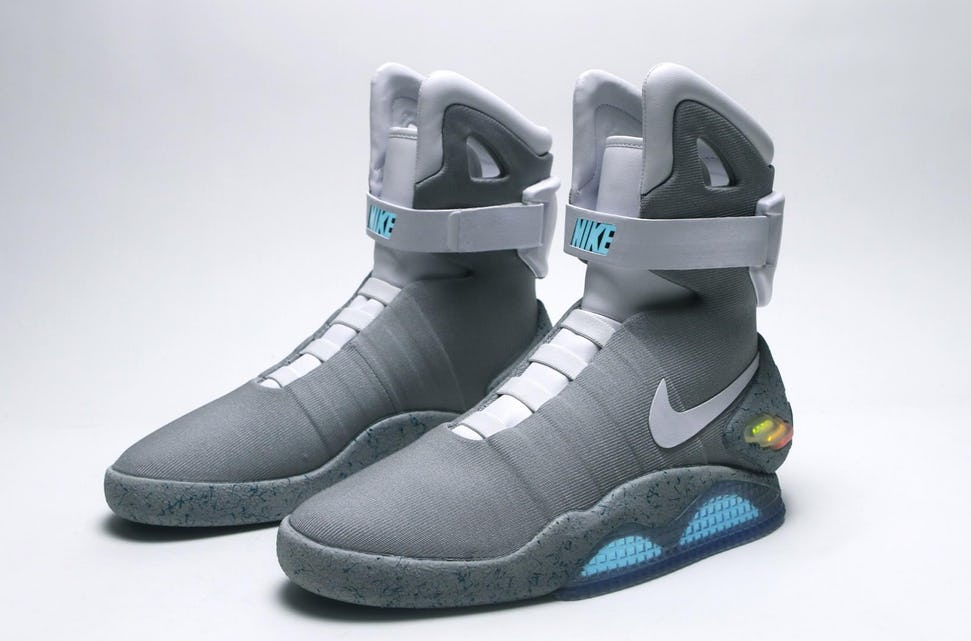 how much are the nike back to the future shoes